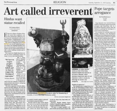 art called irreverent